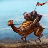 Weltraum Pferderennen by Illustrator Matej Kovacic