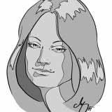 Die Dame – Digital Porträt