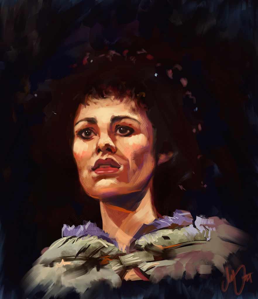Susan Facer - Digital Porträt