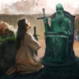 Der betende Ritter – Conept Art