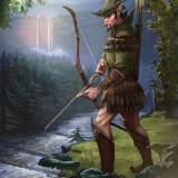 Elf der Reh Jaeger by Illustrator Matej Kovacic