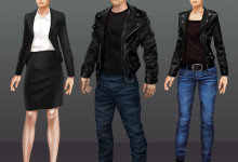 Kleider Varianten Concept Art by Matej Kovacic