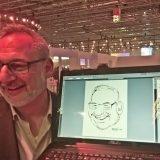Digitale Live-Karikatur – Metro, Düsseldorf – by Matej Kovacic 1